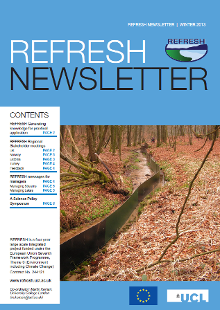 Refresh Newsletter Winter 2013