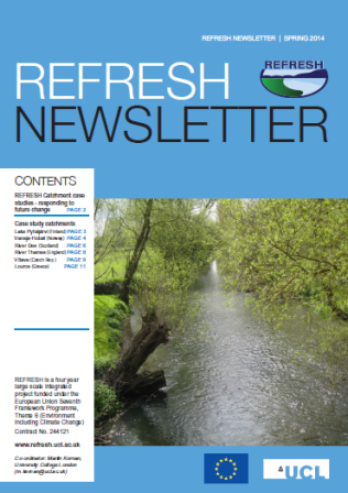 Refresh Newsletter Spring 2014